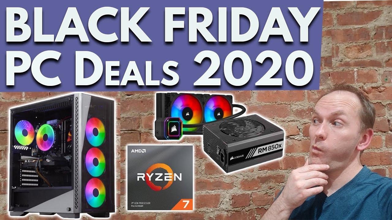 PC Black Friday Deals 2020 – PC Parts, Laptops, Monitors, and Gaming PCs