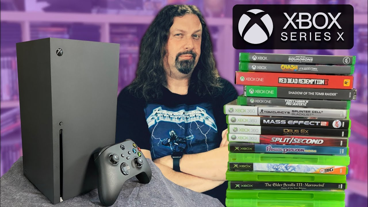 It's here! XBOX SERIES X – Testing 4 generations of Xbox games!